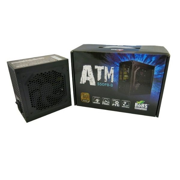 ATNG 550W 80+ Bronze ATX Power Supply Retail
